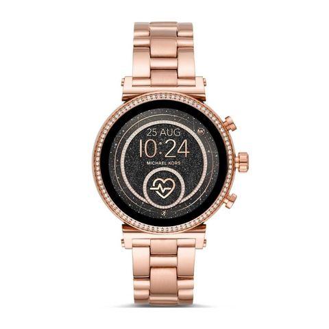 Smartwatch michael kors rose gold r%c3%b3%c5%bcowe z%c5%82oto z brylancikami sofie mkt5063 autoryzowany sklep