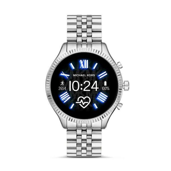 Najnowszy smartwatch michael kors 5 generacja srebrny na bransolecie lexington mkt5077 autoryzowany sklep