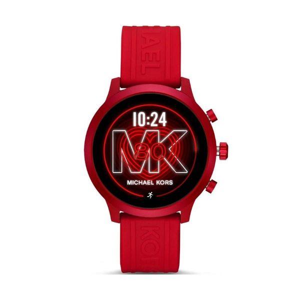 Sportowy smartwatch michael kors mkt5073 czerwony