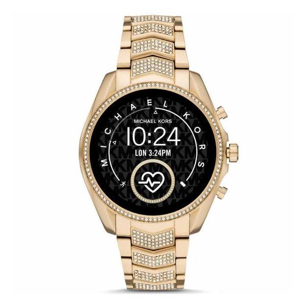 Zloty smartwatch michael kors na bransolecie z krysztalkami mkt5115 gwarancja oryginalnosci autoryzowany sklep bradshaw