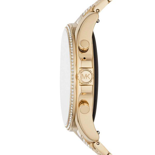 Zloty smartwatch michael kors na bransolecie z krysztalkami mkt5115 gwarancja oryginalnosci autoryzowany sklep bradshaw wymiary
