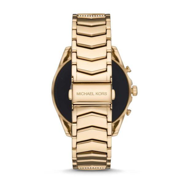 Zloty smartwatch michael kors na bransolecie z krysztalkami mkt5115 gwarancja oryginalnosci autoryzowany sklep bradshaw zapiecie