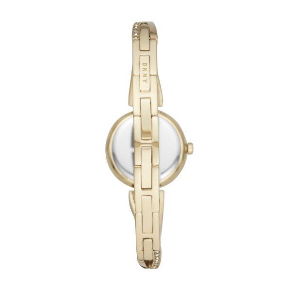 Z%c5%82oty zegarek damski dkny na bransolecie z brylancikami crosswalk gold ny2830