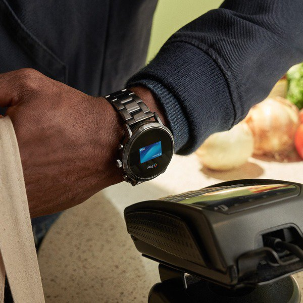 Smartwatch fossil ftw4024 platnosc karta na bransolecie