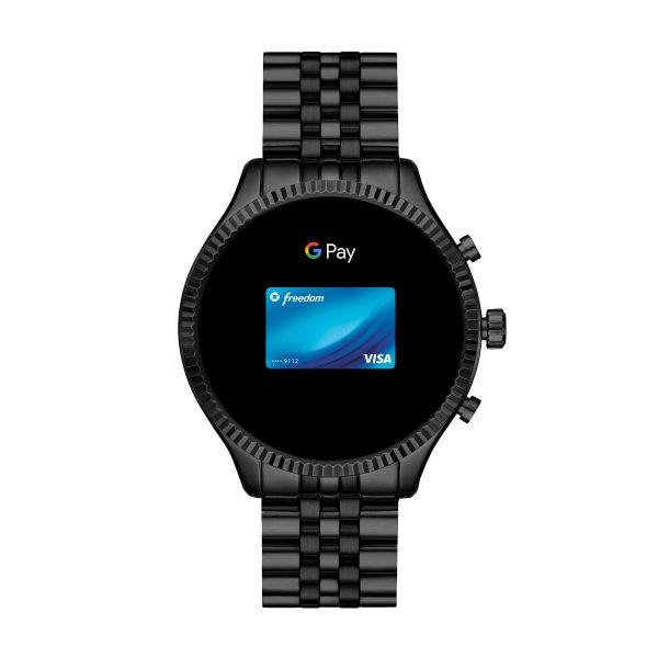 Mkt5096 smartwatch michael kors czarny lexington autoryzowany sklep sprzedawca platnosc zegarkiem