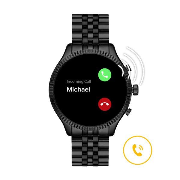 Mkt5096 smartwatch michael kors czarny lexington autoryzowany sklep sprzedawca funkcje