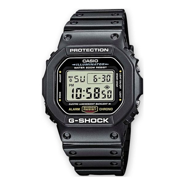 Zegarek meski casio g shock czarny protokatny wyswietlacz dw 5600e  1vz