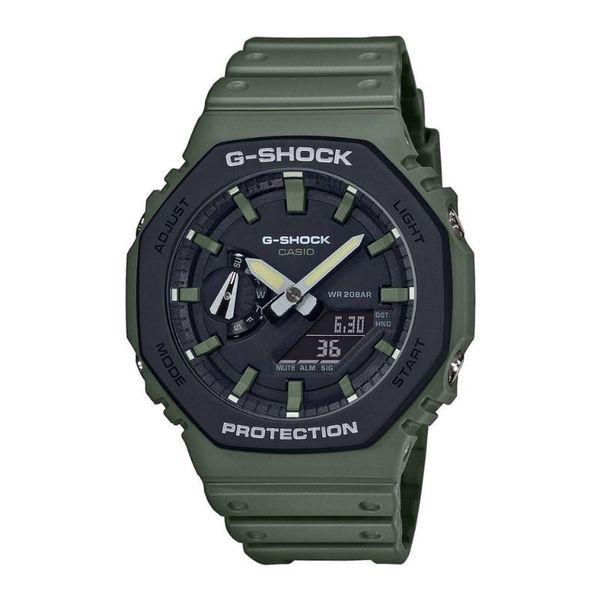 Zegarek meski casio g shock zielony ga 2110su 3aer