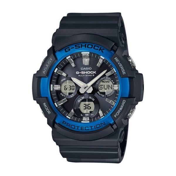 G shock zegarek meski czarny gaw 100b 1a2er niebieski orygina%c5%82 gwarancja autoryzowany sklep