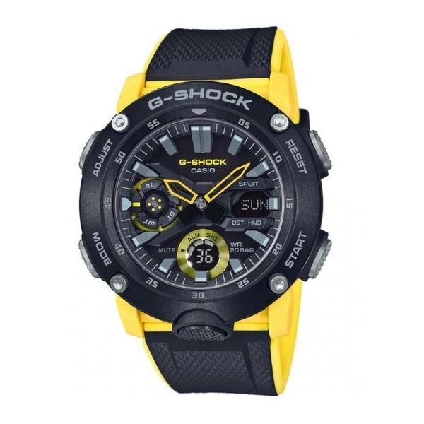 Zegarek meski casio g shock ga 2000 1a9er czarno z%c3%b3%c5%82ty ga20001a9er oryginal gwarancja 3 lata autoryzowany sprzedawca