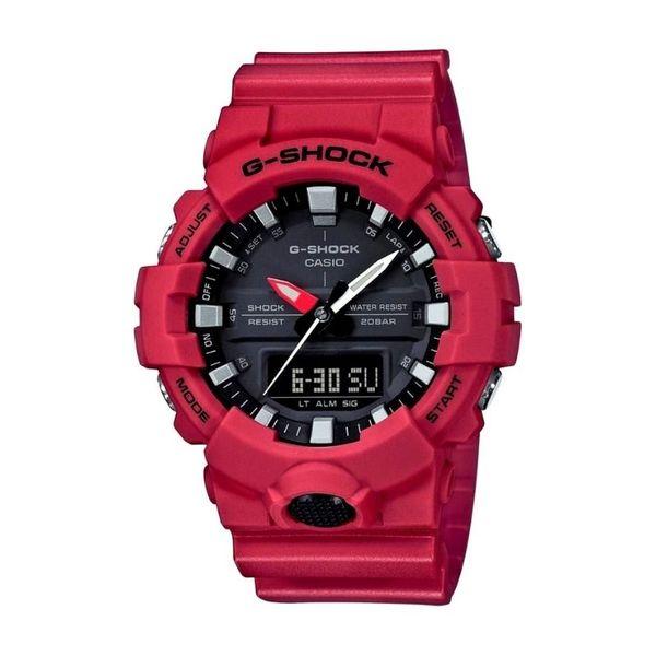 M%c4%99ski zegarek casio gshock czerwony ga8004aer oryginalny orygina%c5%82 czarna tarcza autoryzowany sklep ga 800 4aer