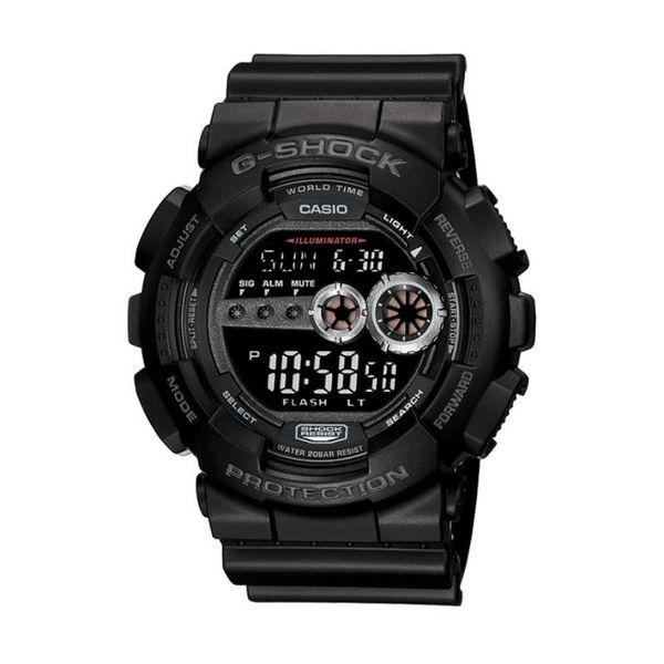 Gshock casio m%c4%99ski zegarek czarny gd 100 1ber gwarancja oryginal oryginalny stoper datownik timer alarm okr%c4%85g%c5%82a tarcza wy%c5%9bwietlacz autoryzowany sprzedawca casio g shock gd 100 1ber gd1001ber