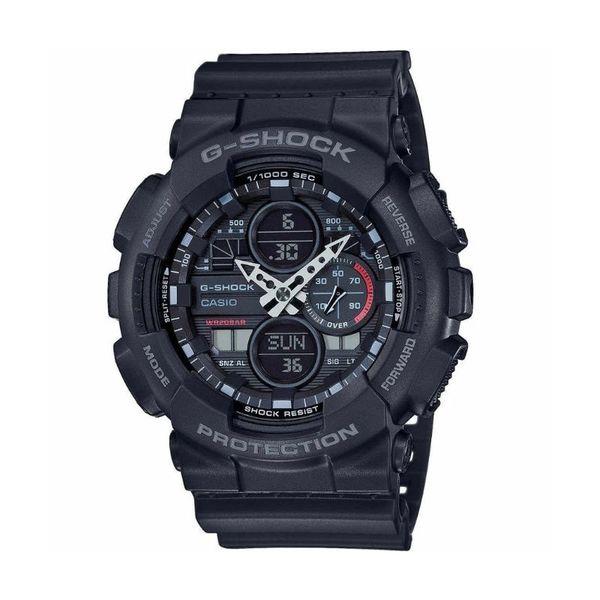G shock m%c4%99ski zegarek ga 140 1a1er czarny pasek tarcza ze wskaz%c3%b3wkami timer stoper kalendarz gwarancja orygina%c5%82 autoryzowany sklep casio gshock