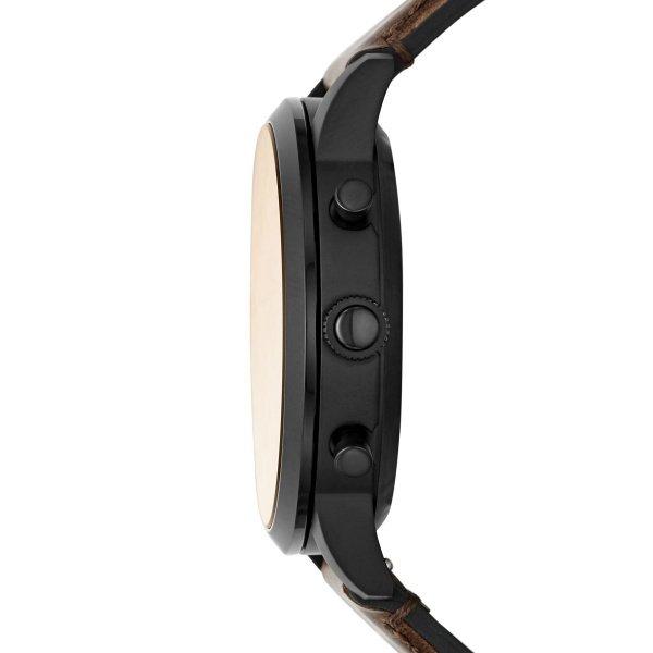 Meski smartwatch fossil ftw7008 hybrydowy gwarancja autoryzwany sklep czarna koperta