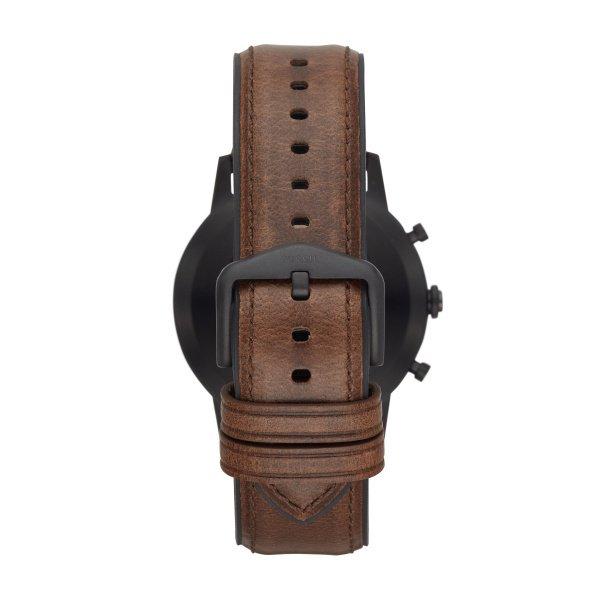 Meski smartwatch fossil ftw7008 hybrydowy gwarancja autoryzwany sklep brazowy pasek