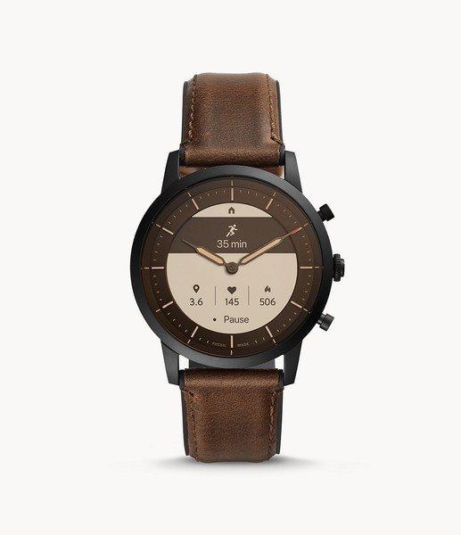 Smartwatch meski fossil ftw7008 zegarek meski hybrydowy funkcje pomiar tetna