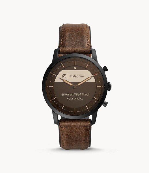 Smartwatch meski fossil ftw7008 zegarek meski hybrydowy funkcje social media