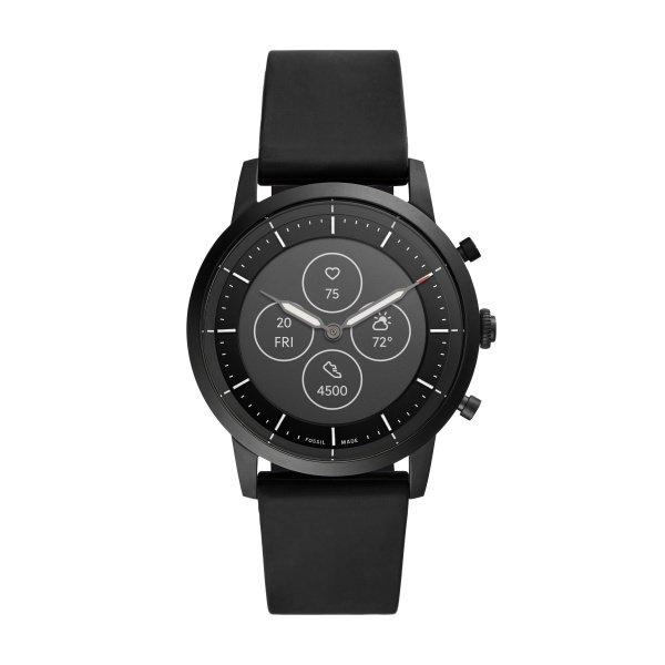 Smartwatch meski fossil  ftw7010 zegarek hybrydowy czarny gwarancja autoryzowany sklep
