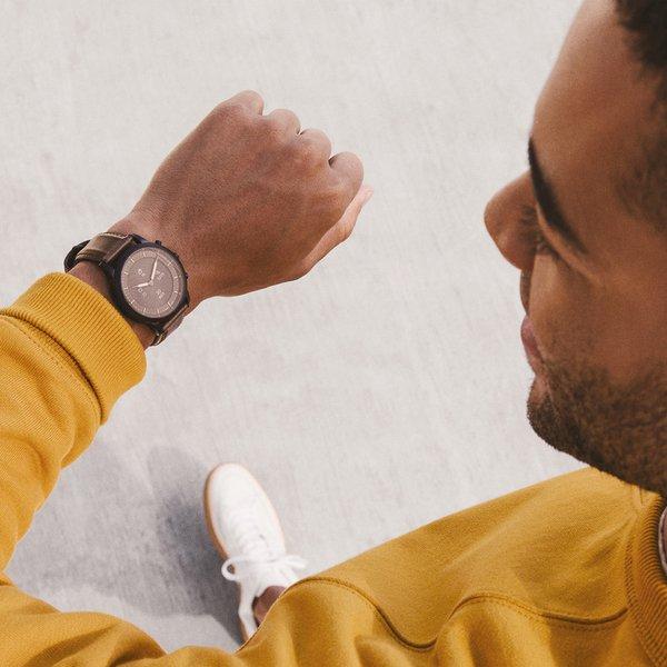 Fossil collider ftw7008 smartwatch hyrbrydowy