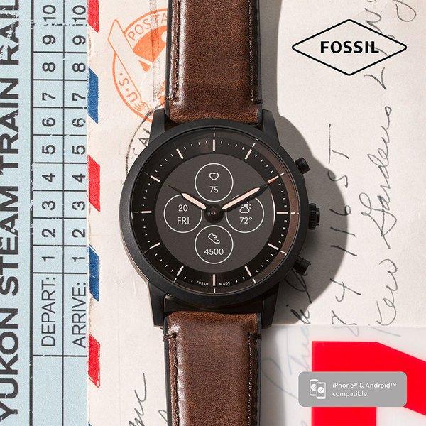 Ftw7008 smartwatch fossil collider hybrydowy