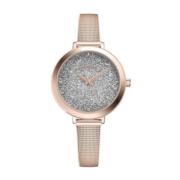 Damski zegarek adriatica a3787.9113q r%c3%b3%c5%bcowe z%c5%82oto srebrna tarcza okr%c4%85g%c5%82a bransoleta rose gold metalowa autoryzowany sklep adriatica