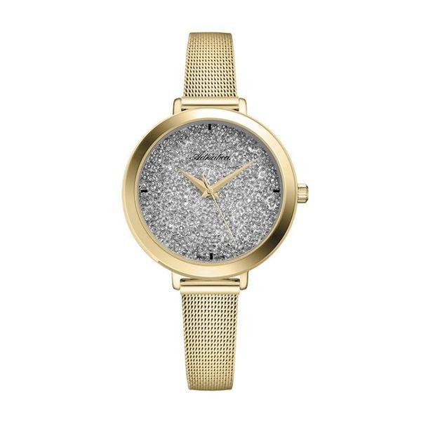 Z%c5%82oty zegarek adriatica a3787.1113q damski z%c5%82ota bransoleta metalowa srebrna tarcza swiss made autoryzowany sklep adriatica