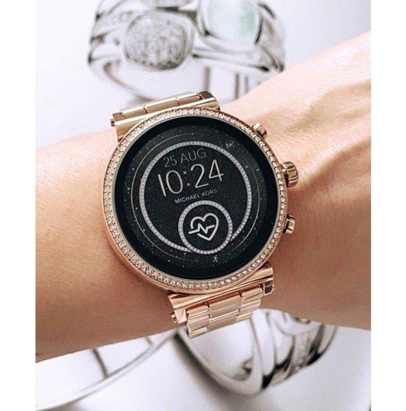 Smartwatch michael kors orygina%c5%82 gwarancja polskie menu polska dystrybucja rose gold mkt5063 oficjalny sklep