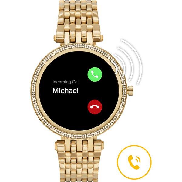 Smartwatch michael kors darci zloty generacja 5e najnowszy mkt5127 gwarancja polska dystrybucja autoryzowany sklep orygina%c5%82 mozna rozmawiac przez zegarek
