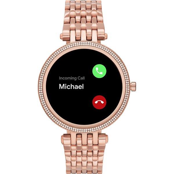 Smartwatch michael kors darci rose gold najnowszy mkt5128 gwarancja orygina%c5%82 autoryzowany sklep z kryszta%c5%82kami rozmowy przez zegarek