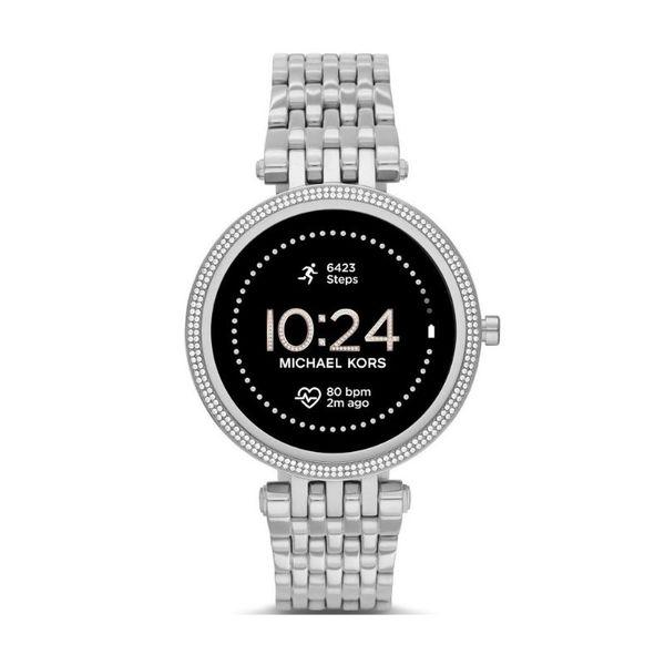 Smartwatch michael kors darci srebrny generacja 5e mkt5126 na bransolecie gwarancja orygina%c5%82 autoryzowany sklep