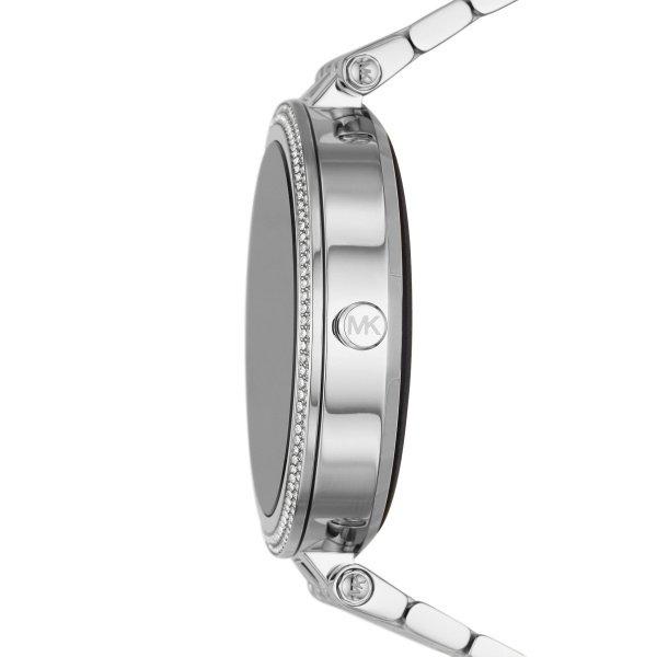 Smartwatch michael kors darci srebrny generacja 5e mkt5126 na bransolecie gwarancja orygina%c5%82 autoryzowany sklep z kryszta%c5%82kami