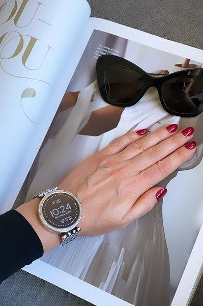 Srebrny smartwatch kors michael darci mkt5126 bransoleta 5 generacja gwarancja autoryzowany sklep polska dystrybucja damski