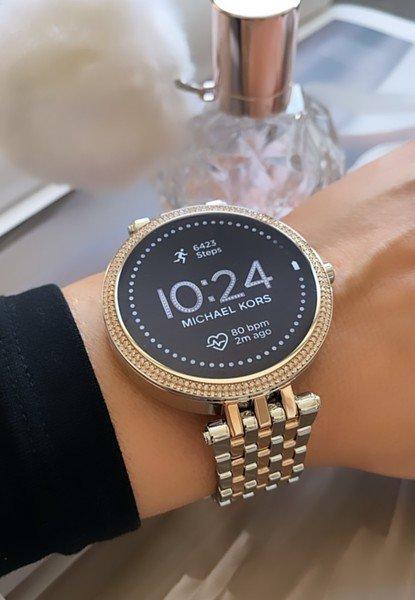 Mkt5129 smartwatch michael kors darci srebrny rose gold 5 generacja najnowszy gwarancja autoryzowany sklep