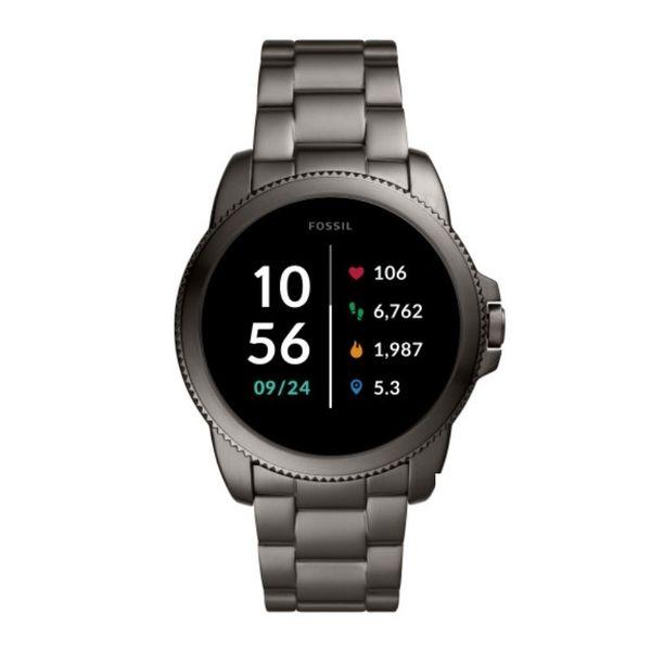 Smartwatch fossil meski 5 generacja cena bateria ftw4049