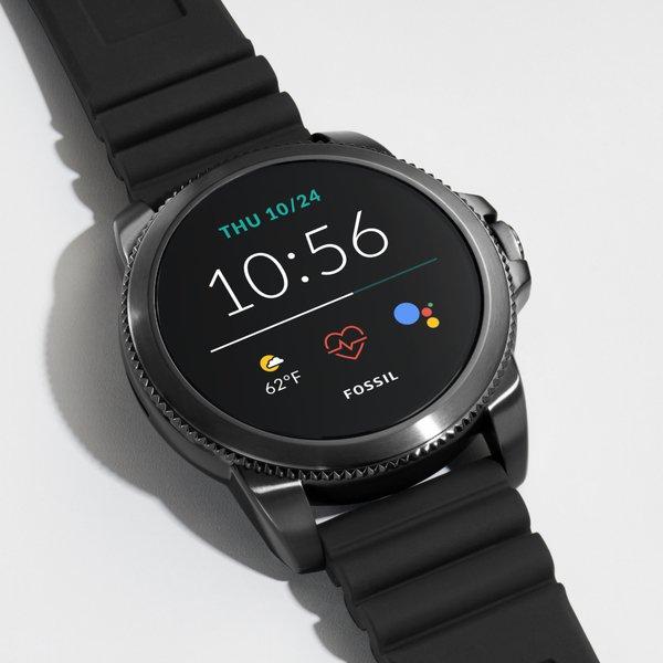 Ftw4047 cena autoryzowany sklep smartwatch fossil 5 generacja pasek silikonowy funkcje