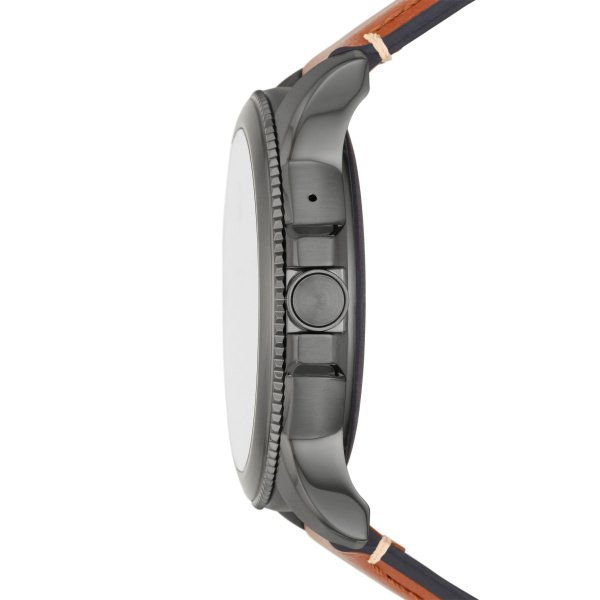 Smartwatch m%c4%99ski fossil 5 generacja najnowszy na pasku ftw4055 platnosci zblizeniowe nfc grafitowa koperta