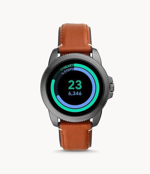Smartwatch m%c4%99ski fossil 5 generacja najnowszy na pasku ftw4055 platnosci zblizeniowe nfc pomiar aktywno%c5%9bci