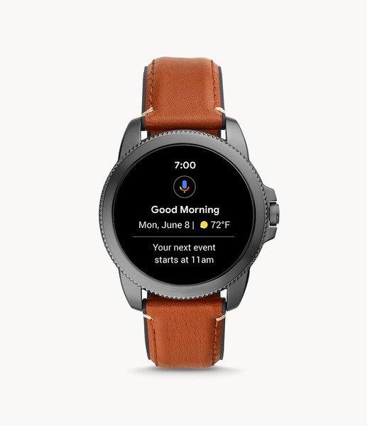 Smartwatch m%c4%99ski fossil 5 generacja najnowszy na pasku ftw4055 platnosci zblizeniowe nfc wyswietlacz