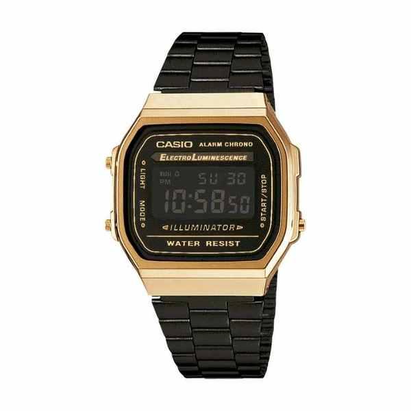 Zegarek caio retro czrno z%c5%82oty a168wegb 1bef