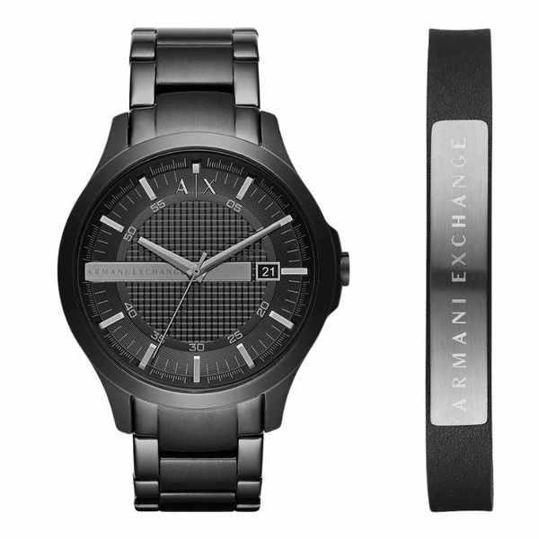 Ax7101 zestaw zegarek i bransoletka armani exchange