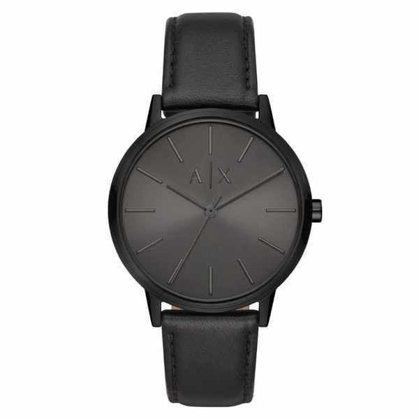 Ax2705 czarny m%c4%99ski zegarek armani exchange
